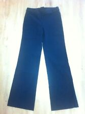 Ladies CUE Black Dress Pants Size 6 Flared  Trousers