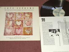 THE SUPREMES - LOVE SUPREME - MOTOWN   LP
