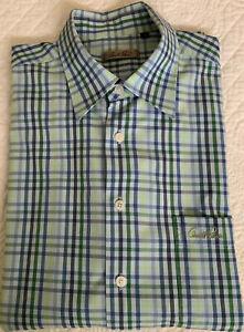 Arnold Palmer XL Blue Navy Green Short Sleeve Golf Shirt