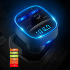 Car Bluetooth FM Transmitter MP3 Player Radio Adapter Kit USB Charger 2 Outlets