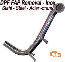 Il tubo verticale DPF FAP Rimozione T5 FIAT PANDA 1.3 75 95 HP euro 5