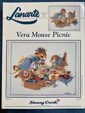 Vera Mouse Picnic - Lanarte Cross Stitch Chart 1995 - NEW