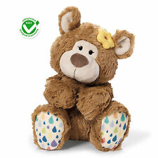 NICI classic Bear girl caramel Germany Plush Stuffed Animal Toy Doll 25cm 40480