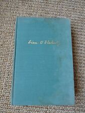 Famine by Liam O'Flaherty 1937, Literary Guild, Inc, 1st Edition, HC