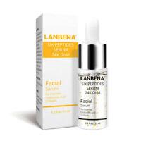 LANBENA 24K Gold Facial Anti Aging Wrinkle Facial Face Serum Cream Skin Cafe
