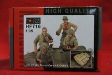 Hobby Fan HF-716 1/35 U.AS. M42 Duster Crew, 'Nam  4 Figs Set   - USA Shipping