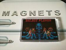 Golden Axe Player Select Fridge Magnet. NEW. Retro Gaming. Arcade