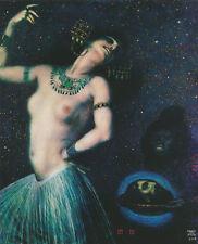 """Franz von Stuck """"Salome"""" 1906 Weiblichkeit Tänzerin Kette Erotik Kunstdruck 018"""