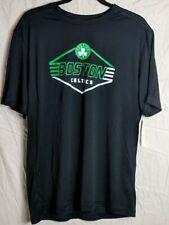 NBA Boston Celtics Mens Large Tee Shirt TX3 Cool Black Basket Ball