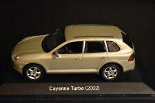 Porsche Cayenne Turbo 2002 Minichamps Dealer edition diecast in scale 1/43