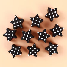 10x Fivepointed Star DIY Name Photo Card Memo Paper Note Clip Holders H