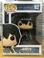 Funko Pop! Animation: Sword Art Online Kirito Figure #82 w/ Protector