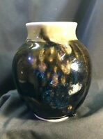 Vintage Small Studio Pottery Vase- Signed