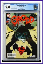 Superman Batman #63 CGC Graded 9.8 DC October 2009 White Pages Comic Book