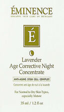 Eminence Lavander Age Corrective Night Concentrate 35ml(1.2oz) Brand New