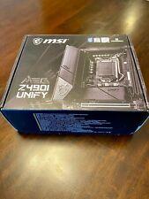 MSI MEG Z490i Unify Mini-ITX Intel Socket 1200 Motherboard