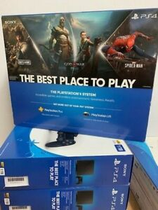 New Sony PlayStation 4 Slim 1TB Jet Black Home Console CUH-2215B fast shipping