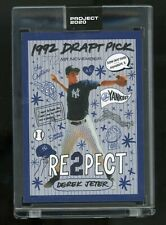 Topps Project 2020 Derek Jeter by Sophia Chang #251 In Hand PR Only 4,123! 11