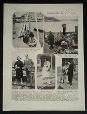 Findhorh Yacht Club Alexander Gordon-Cumming Capt Gordon-Duff 1931 Photo Article