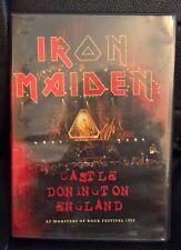 IRON MAIDEN DVD live Festival Donington (England) 1992 very rare