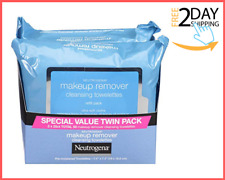 Makeup Removing Wipes Remove 99.3 Percent of all makeup 25 Count Twin Pack
