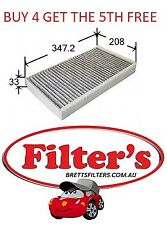 CABIN AIR FILTER MERCEDES BENZ VIANO 2.2L CDI W639 T/DIESEL OM646 DOHC 03-09