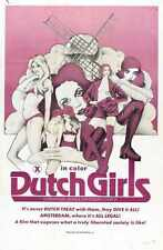 Dutch Girls Poster 01 Metal Sign A4 12x8 Aluminium