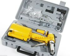 New Pneumatic Air Hydraulic Pop Rivet Gun Riveter Riveting Tool w/Carrying Case