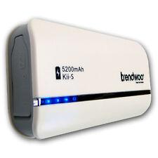 Trendwoo Kii-S Powerbank 5200mAh USB Ladegerät Akku Reiselader Ersatzakku extern