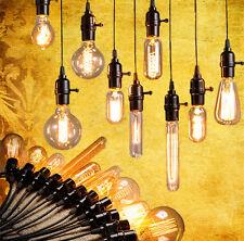 E27 E14 40W Edison Vintage Glühbirne Licht Filament Retro Glühlampe 220V Deko