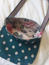 Cath Kidston Mini Reversible Messenger Bag Forest Rose RRP £35.00 BNWT