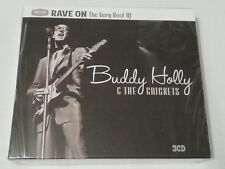 Buddy Holly & The Crickets - Rave ON -Very best Of - Decca ( New 3 CD)