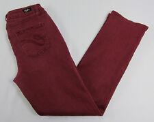 Earl jean jeans Straight leg pants Burgundy Womens Size 10