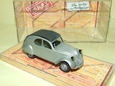 CITROEN 2CV A 1950 Gris Phare Noir NOREV