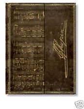 """Paperblanks Journal Book Lined Chopin Polonaise A Flat Ultra Size 7""""x9"""" NWT"""