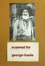 GABBY HAYES - ALBUM LEAF - VTG - SIGNED - 1943 - HOPALONG CASSIDY - ROY ROGERS