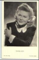 ~ 1950/60 Porträt-AK Film Bühne Theater Schauspielerin CARSTA LÖCK Foto-Verlag