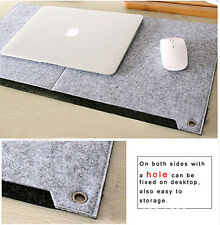 NEW Multi-function Large keyboard Felt mouse pad writing pen desk Mat Organizer
