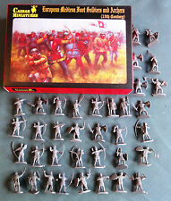 Caesar European Medieval Foot Soldiers and Archers 1/72  MIB