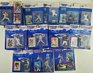 MLB Starting Lineup Figures Lot Of 18 1996 1997 1998 Baseball Card New