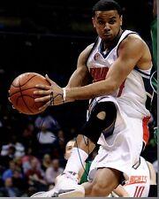 D. J. Augustin Denver Nuggets Bobcats Bulls Signed 8x10 Photo LOM COA CB 043