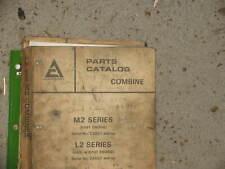 Allis Chalmers Combine L2 & M2 Series Parts Catalog Manual