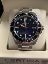 Certina DS Action Diver Automatic Wristwatch Swiss C032.407.11.041.00 Powermatic