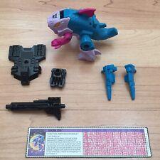 Vintage G1 Transformers SKALOR Piranacon Complete ALL Original Hasbro 1988