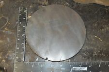 3/8 Steel Plate, Disc Shaped, 6 5/8'' Dia, .375 A36 Steel, Round, Circle