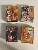 Star Wars Episode 1 Mini Puzzle Lot of four