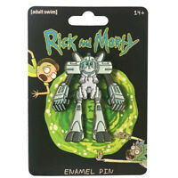 Rick and Morty - Snowball Enamel Pin NEW