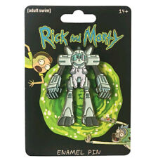 Rick and Morty - Snowball Enamel Pin NEW