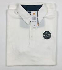 Quiksilver Waterman Water Polo Short Sleeve Shirt Snow White Medium