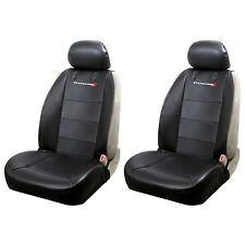 New 2pc Elite Style Synthetic Leather Front Car Truck Seat Covers for Dodge
